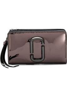 Marc Jacobs Carteira Snapshot Mirrored Compact - Preto