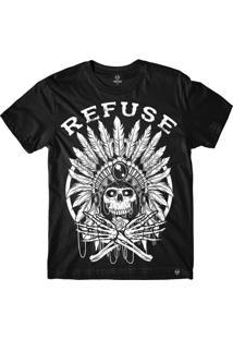 Camiseta Refuse Chief - Preta