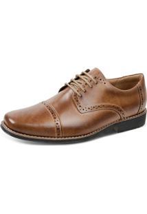 Sapato Social Sandro Moscoloni Vintary Marrom Claro