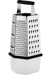 Ralador 6 Faces Com Coletor- Inox- 18,5X13,5X8,7Cm