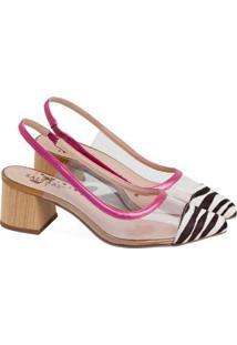 Sapatos Saltare Emily Feminino - Feminino-Rosa