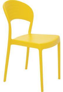 Cadeira Sissi- Amarela- 80X44X53Cm- Tramontinatramontina