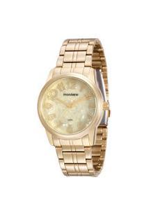 Relógio Analógico Mondaine Feminino - 99007Lpmvde1 Dourado