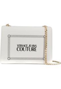 Versace Jeans Couture 80S Redux Shoulder Bag - Branco