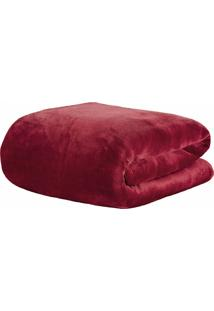 Cobertor Queen Kacyumara Blanket 600 Marsala