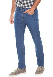 Calça Jeans Wrangler Reta Azul