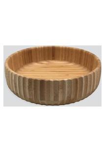 Amaro Feminino Oikos Bowl Canelado Grande, Bambu