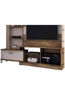 Estante Home Theater New Lavínia Canela/Dunas - Colibri
