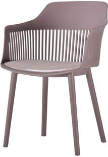 Cadeira Leslie Polipropileno Camurca - 58274 - Sun House