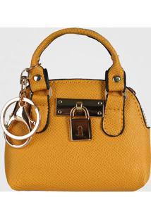 Porta Moedas Chaveiro Mini Bag Le Postiche (Azul Médio, Único)