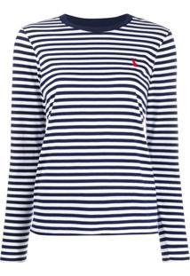 Polo Ralph Lauren Suéter Com Logo No Busto - Azul