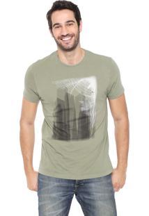 Camiseta Aramis Edifícios Verde