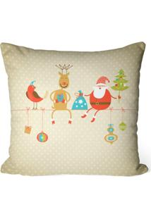 Capa De Almofada Love Decor Avulsa Decorativa Cute Natal