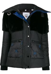 Rossignol Contrast Padded Jacket - Preto