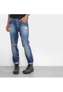 Calça Jeans Skinny Replay Vintage Masculina - Masculino-Jeans
