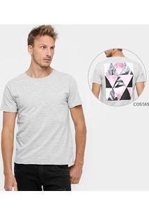 Camiseta Sergio K. Estampa Costas Geometric - Masculino