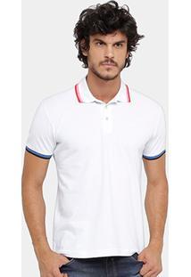 Camisa Polo Ellus 2Nd Floor Piquet Frisos Masculina - Masculino