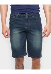 Bermuda Jeans Preston Básica - Masculino
