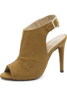 Sandália Sandal Boot Shoes Inbox Salto Fino - Feminino