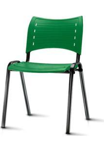 Cadeira Iso Assento Verde Base Preta - 54032 Sun House