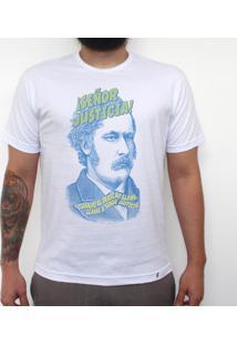 Señor Justicia - Camiseta Clássica Masculina
