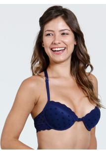 Sutiã Feminino Nadador Renda Marisa