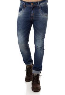 Calça Jeans Masculina Zune Azul