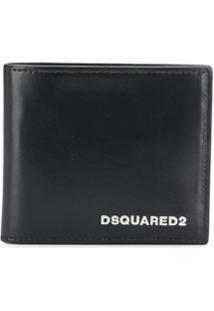 Dsquared2 Carteira Com Logo - Preto