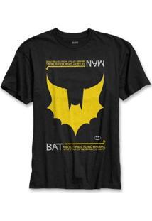 Camiseta Bandup! Batman Wings - Masculino-Preto