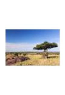 Painel Adesivo De Parede - África - Floresta - 654Pnm