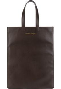 Comme Des Garçons Comme Des Garçons Wallet Sa9002 Brown Leather - Marrom