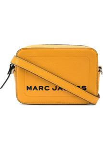 Marc Jacobs Bolsa Transversal The Box - Amarelo