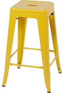 Banco Oia Decor Alto Amarelo