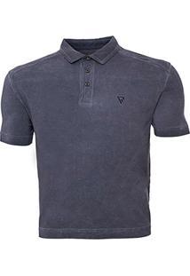 Camisa Polo Recorte Ombro Vr - Masculino