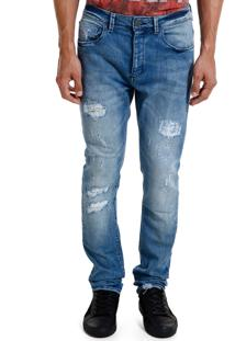 Calça John John Skinny May Jeans Azul Masculina Cc Skinny May-Jeans Medio-46