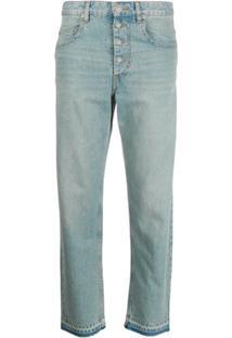 Isabel Marant Étoile Cropped Fit Jeans - Azul