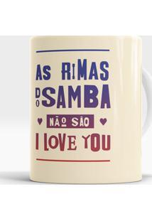 Caneca Rimas Do Samba
