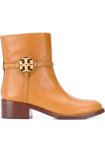 Tory Burch Miller Ankle Boots - Marrom