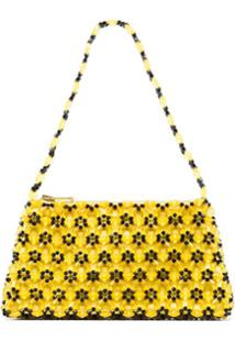 Shrimps Clutch Dawson Mini Cristais - Amarelo