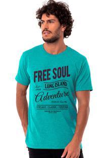 Camiseta Long Island Rong Verde Esmeralda