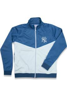 Jaqueta New Era Track New York Yankees Azul