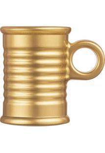 Xícara De Café Luminarc Conserve Moi Dourada Vidro 90Ml - 27418
