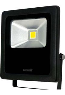 Refletor Para Lâmpada Tr Led 50W 6500K Preto Taschibra