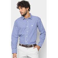 5351f27585a21 Camisa Manga Longa U.S. Polo Assn Xadrez Masculina - Masculino