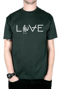 Camiseta 182Life Love Musgo