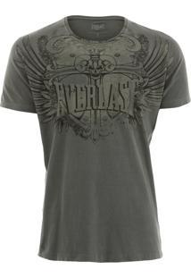 Camiseta Everlast Life Style Caqui