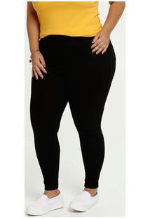 Calça Feminina Skinny Bengaline Plus Size