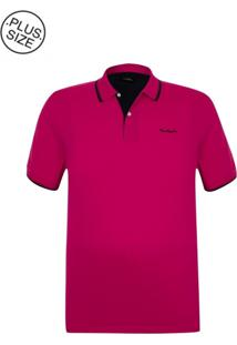 Polo Plus Size Classic New Pink