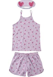 Pijama Lilás Adulto