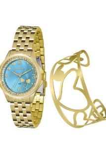 Relógio Lince Urban Lrg4511Lku65A2Kx Feminino - Feminino-Dourado